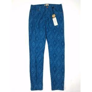 NWT Sanctuary Printed Skinny Jeans